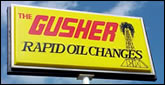 Gusher Oil Inc. - Free printable  coupons Holland Michigan