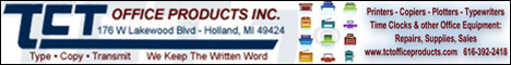 TCT OFFICE PRODUCTS, INC. Coupons Deals Specials Holland MI | SuperSavings.com
