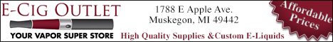 E-Cig Outlet Coupons Deals Specials Muskegon MI | SuperSavings.com