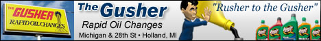 Gusher Oil Inc. Coupons Deals Specials Holland MI | SuperSavings.com