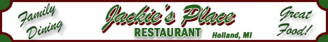 Jackie's Place Restaurant Coupons Deals Specials Holland MI | SuperSavings.com