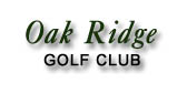 Oak Ridge Golf Club - Free printable Golf coupons Rockford Michigan
