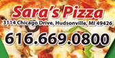 Sara's Pizza - Free printable Restaurant coupons Greenville Michigan