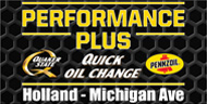 Performace Plus Quick Oil Change Holland Michigan Ave - Free printable  coupons Holland Michigan