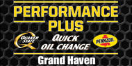 Performace Plus Quick Oil Change Grand Haven - Free printable Oil Change coupons  Michigan